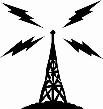 Radio Tower Clipart Antenna Station Clip Cell