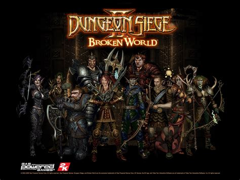 dungeon siege ii broken castellano wybanscir