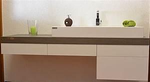 Waschtischkonsole Für Aufsatzwaschbecken : badschrank mit aufsatzbecken schreinerei holzdesign rapp geisingen ~ Frokenaadalensverden.com Haus und Dekorationen