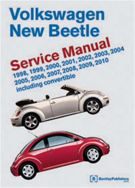 free service manuals online 2010 volkswagen new beetle on board diagnostic system volkswagen new beetle printed service manual 1998 2010 including convertible