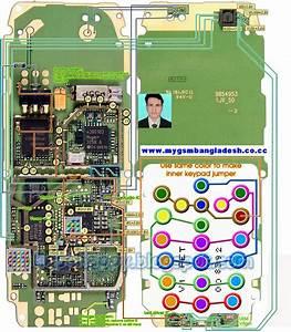 Nokia 2310 Layout Diagram Of Whole Board Nokia 2310