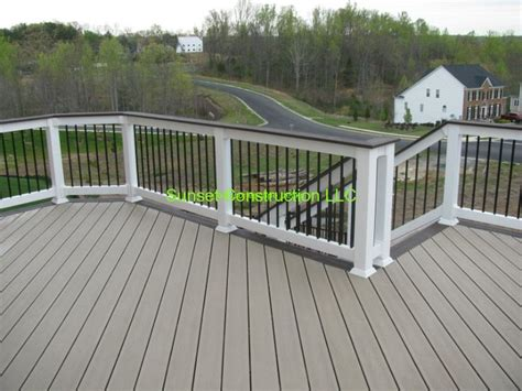 composite deck ideas trex transcends deck ropeswing color with vintage lantern border by www outdoorescapesdeck com
