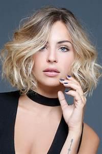 Coupe Mi Long Blond : 369 best cheveux mi longs coiffures mi longues images on pinterest bang hair bang haircuts ~ Melissatoandfro.com Idées de Décoration