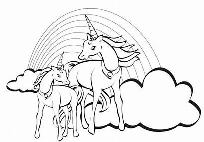 Unicorn Coloring Pages Princess Printable Unicorns Getcolorings