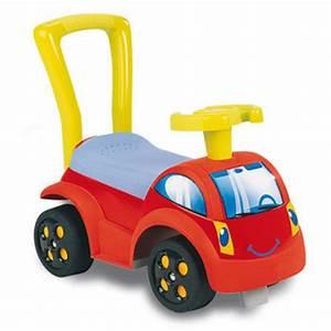 Voiture Porteur Bébé : trotteur porteur voiture smoby initio ii rouge ~ Teatrodelosmanantiales.com Idées de Décoration