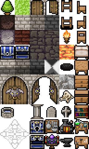 roguelike dungeonworld tiles opengameartorg