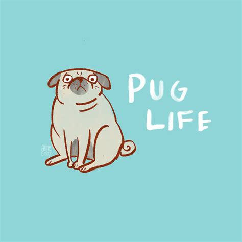 Cute Dog And Cat Wallpaper Pug Life By Aberry89 On Deviantart