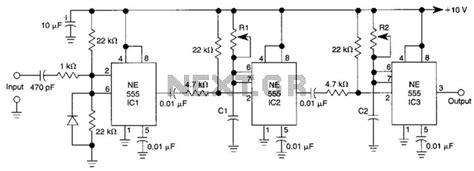 Delayed Pulse Generator Circuit Under Delay Circuits