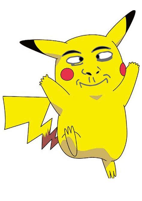 Pikachu Memes - pikachu derp face meme by justcallmethedoctor on deviantart