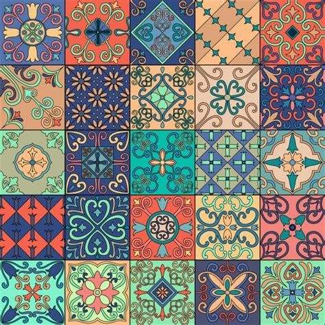 patron sin fisuras  azulejos portugueses en estilo
