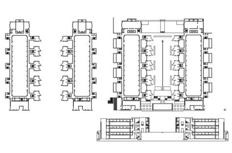 log floor plans salk institute louis kahn cad design free cad blocks