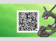 Shiny Rayquaza QR Codes for Gen 7 Project Pokemon Forums