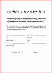 old fashioned certificate of authenticity template With letter of authenticity template
