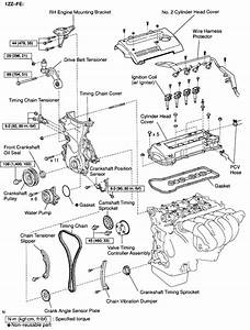 2000 Toyota Celica Engine Diagram