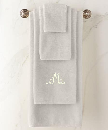 monogrammed towels  bath rugs bathroom essentials
