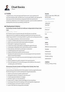 Teacher Resume  U0026 Writing Guide