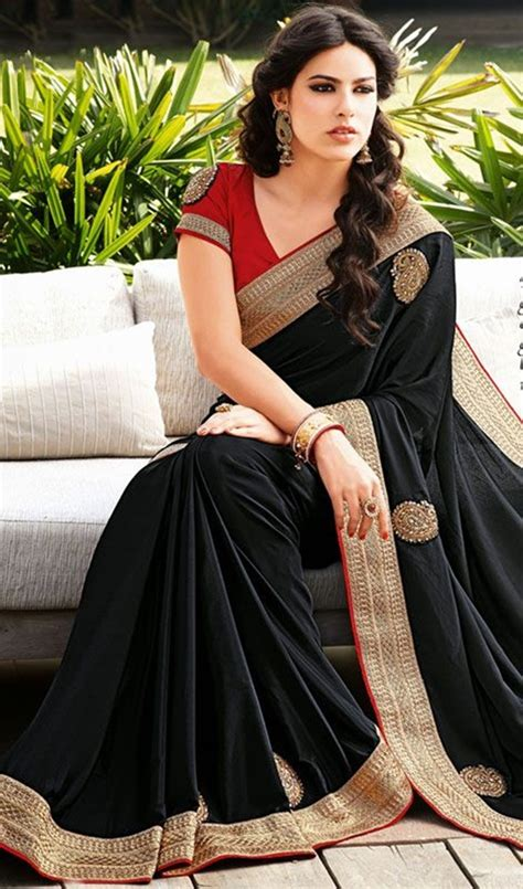 style file sweet traditional indian saree