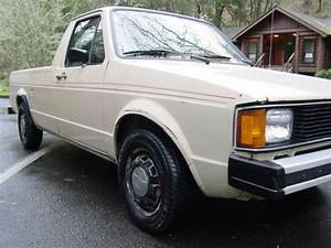 1982 Vw Rabbit Diesel Caddy Pickup Truck With 5 Speed