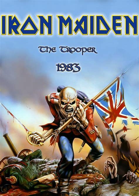 Metal Wallpaper Nash: Iron Maiden The Trooper