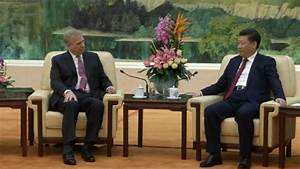 Britain's Prince Andrew meets Chinese President Xi Jinping