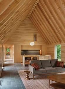 Parement Bois Mural : boiserie murale et parement bois pour int rieur contemporain ~ Premium-room.com Idées de Décoration