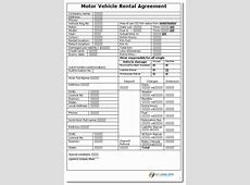 vehicle hire purchase agreement template car lease