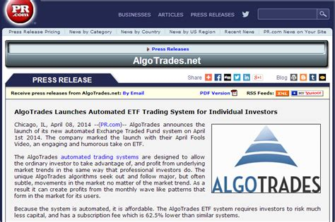 automated trading system professional automated trading system for etfs