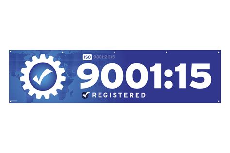 buy iso 9001 2015 banner iso 9001 2015 flags banners graphics federal flags