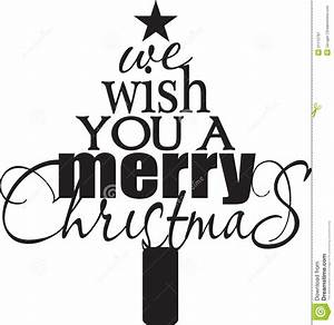Merry Christmas Black White Clipart - Clipart Suggest