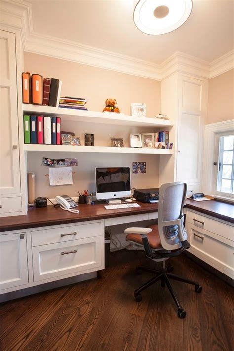 built in desk ideas for home office 29 creative home office wall storage ideas shelterness