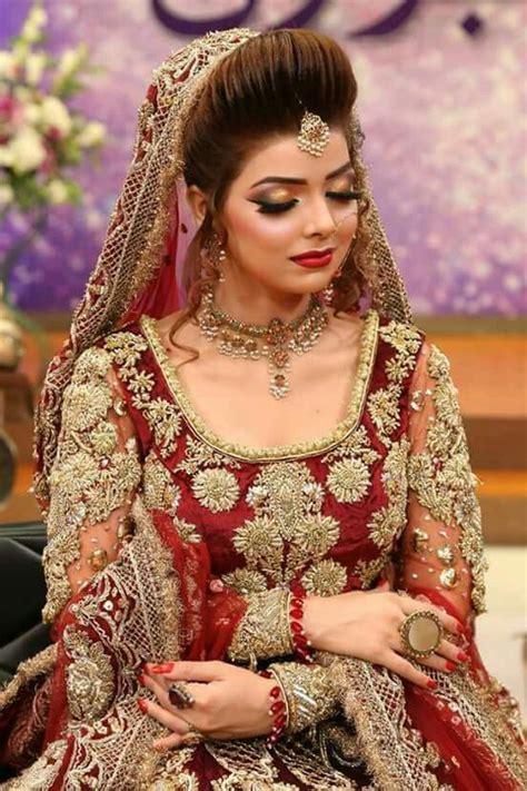 pin  laiba  bridal pakistani wedding outfits pakistani bridal makeup pakistani bridal