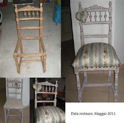 restauro sedia restauro di una sedia in stile shabby restauro quot fai da