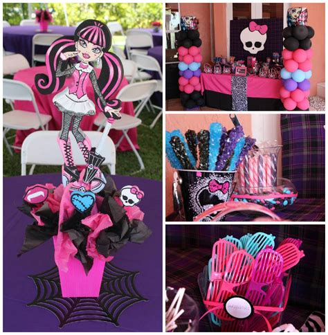Kara's Party Ideas Monster High Themed Birthday Party