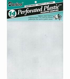 Plastic Canvas 8-1/2''x11'' 2/Pkg JOANN
