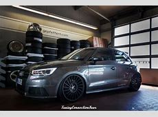 gepfeffertcom Fahrwerk im Audi S1 mit VentiR Alu´s