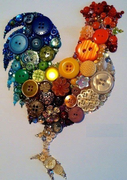 beautiful crafts  buttons