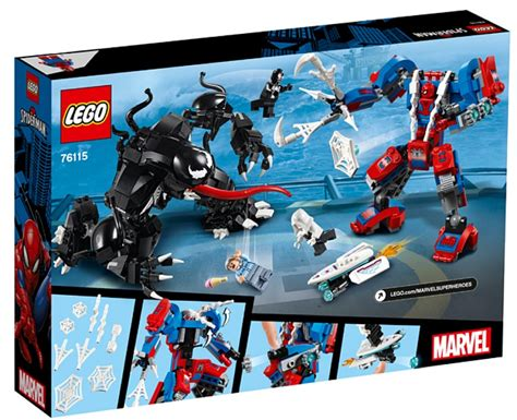 lego marvel super heroes spider man  box art images