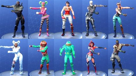 Fortnite 84 Costumes/outfits Perform Floss Dance