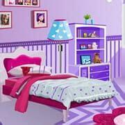 barbie decorate bedroom  play