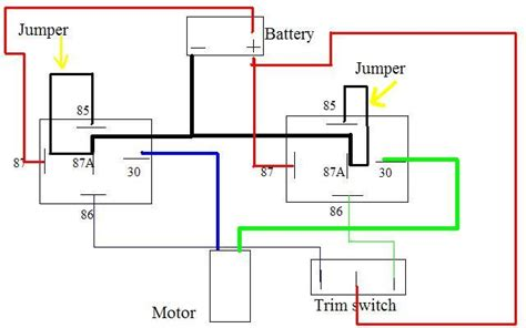 mercury  inline  hp trim relay problem page