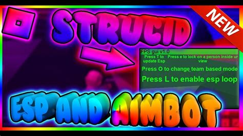 hack script strucid gui aimbot esp god mode fire