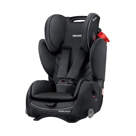 Recaro Young Sport Childrens Car Seat Performance Black 9