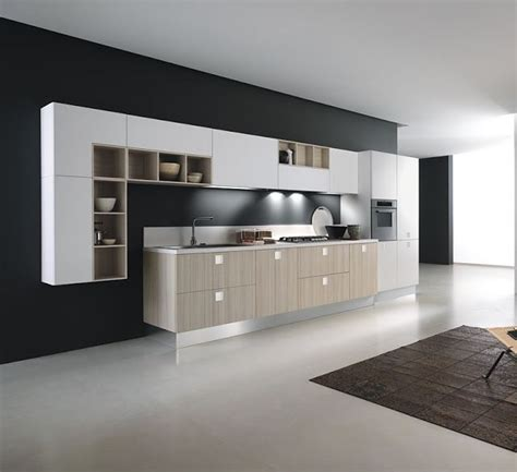 pictures of modern kitchen cabinets 21 best images about cocinas lineales on 7478