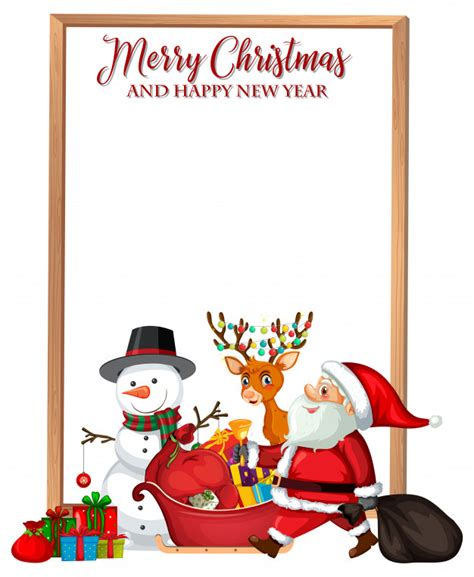 Find images of merry christmas happy new year. Merry christmas and happy new year card Vector | Free Download