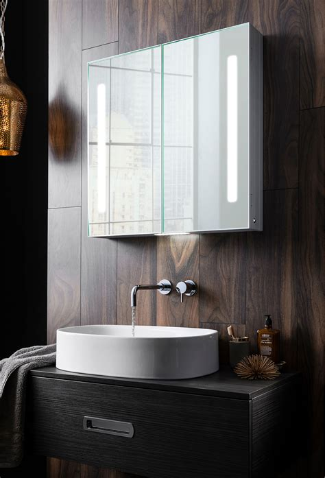 allure  mirrored cabinet  allure luxury bathrooms