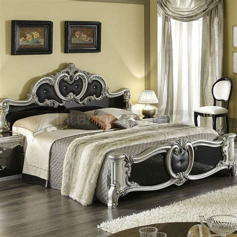 Classic Italian Bedroom Set  Barocco  Italian Furniture