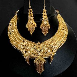 Tanishq gold necklace set | Bridal Jewelry | Pinterest ...