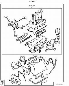 Engine Overhaul Gasket Kit For 2008