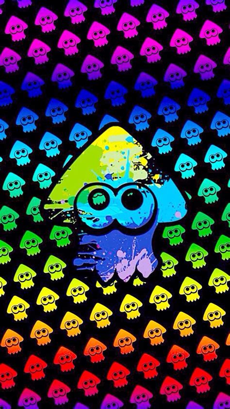 splatoon lock screen iphone themes nintendo splatoon