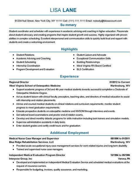 resume for students simple resume template